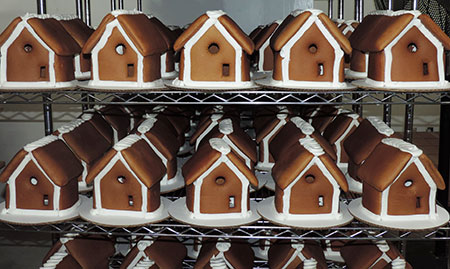 Roland's Swiss Pastry & Bakery Holiday Baked Goods | Handmade Gingerbread Houses
